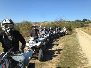 randonnées en quad et stages trail