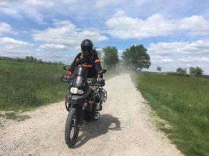 stage randonnee moto trail